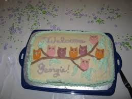 owl baby shower cake baby shower cake ideas and pictures