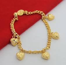 bracelet with heart charms images Gold charm bracelets gold charm bracelets heart eternity jewelry jpg