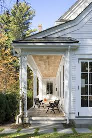 Faux Stone Post Sleeves by Best 25 Stone Front Porches Ideas On Pinterest House Front