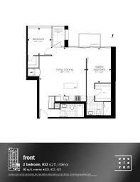 floor plan of the secret annex one eleven condos bathurst prices u0026 floor plans