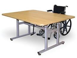 Work Table Desk Therapy Table Pt Table On Sale Hi Lo Table Hand Therapy Tables