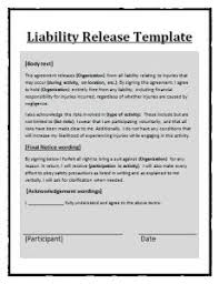asset release form template free word templates