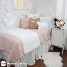Gold Bedding Sets Pink Fur Gold Bedding Set