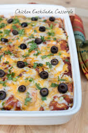Cooking Light Enchilada Casserole Chicken Enchilada Casserole Valerie U0027s Kitchen