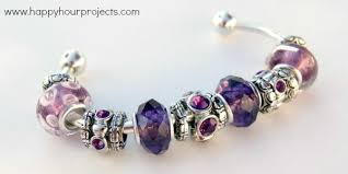 diy pandora inspired bracelet happy hour projects