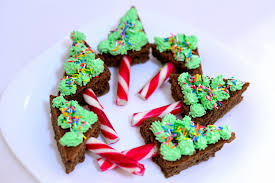Christmas Tree Frosting How To Make Brownie Christmas Trees 14 Steps With Pictures