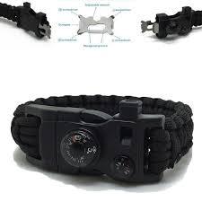 survival bracelet whistle buckle images Survival 15 in 1 paracord bracelet sixty six depot jpg