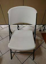 Lifetime Folding Chairs White Folding Chairs Ebay