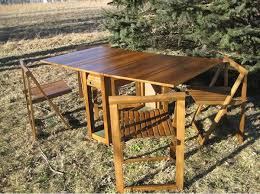 Drop Leaf Table With Chairs 20 Drop Leaf Table With Folding Chairs Home Design Lover