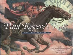 paul revere s ride book the marlowe bookshelf paul revere s ride