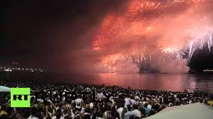 New Years Eve Traditions Brazil Copacabana Bedazzles Rio On New Year U0027s Eve Youtube