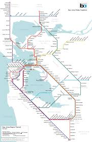 Trans America Trail Map by Visualizing Bart To Marin And Napa And Sonoma