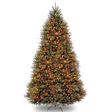 tall fake christmas trees christmas lights decoration
