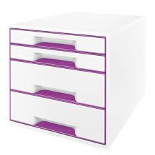 cassettiera da scrivania cassettiere in plastica colorate accessori scrivania