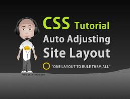 css tutorial layout template css auto adjusting stretch fit web site layout tutorial html5