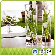 Glass Vase Cylinder China Home Decoration Tall Glass Vases Cylinder Shape Flower Glass