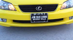 jim lexus beverly hills 02 solar yellow lexus is300 sportcross rare youtube