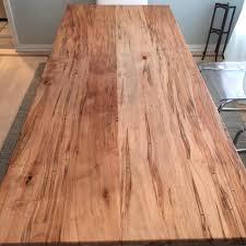ambrosia maple modern industrial table ks woodcraft