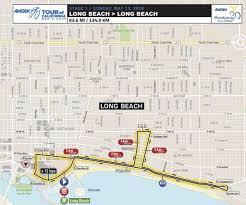 Map Of Long Beach Long Beach Officials Tweak Amgen Tour Course For Restaurants