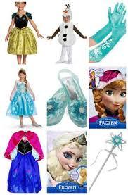 Halloween Costume Elsa Frozen Anna Costume