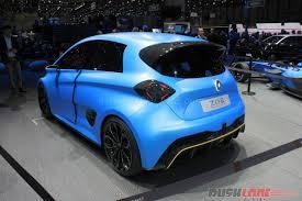 renault zoe interior renault zoe e sport concept with formula e technology 2017 geneva