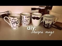 Decorating Porcelain Mugs Diy Sharpie Mugs Youtube