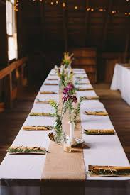 grey table runner wedding ridiculously pretty seriously creative wedding table runners ideas