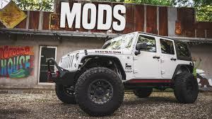 badass white jeep wrangler jeep wrangler unlimited mods lift kit armor u0026 more youtube