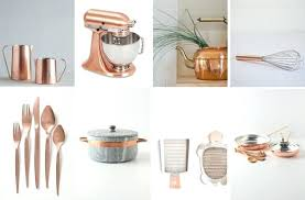 Design For Copper Flatware Ideas Copper Kitchen Accessories Wall Home Decor Decorating With