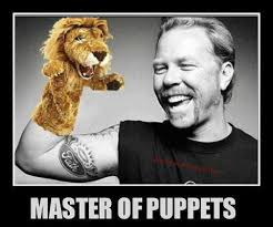 James Hetfield Meme - master of puppets james hetfield from the band metallica funny