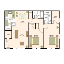 Small Two Bedroom House Plans by 2 Bedroom Ranch House Plans Floor Plan G Bath Inspired Memorial