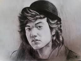 lively celeb portraits in pencil sketches news vietnamnet