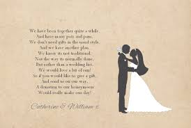 Wedding Poems For Invitation Cards Gift Poem Cards U2013 Josephine And Daughters