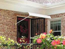 Door Awnings Aluminum 1100 Series Door Canopy With Support Arms