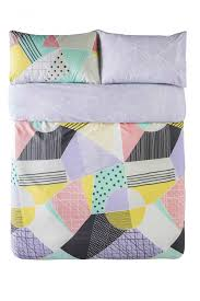 molly multi quilt cover set by kas kids