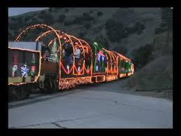 sunol train of lights niles canyon railway s train of lights 2009 youtube