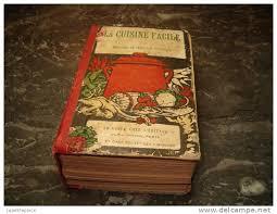 livre de cuisine ancien ancien livre la cuisine facile par mam selle jeanneton 1910 1920