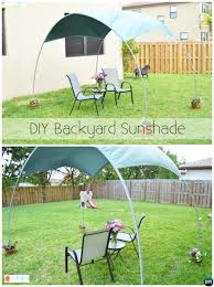 Diy Backyard Canopy Diy Outdoor Pvc Canopy Projects Picture Instructions