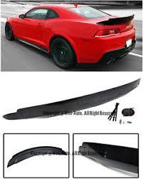 camaro zl1 for sale ebay for 14 15 chevrolet camaro zl1 style rear trunk wing lip spoiler w