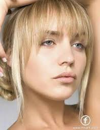 framed face hairstyles with bangs bangs pinteres