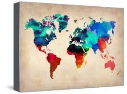 printable world map a1 world maps artwork for sale posters and prints at art com