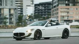 2017 maserati granturismo white astra limousines and wedding cars wedding cars camperdown easy