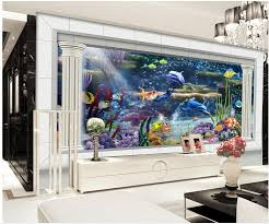 wallpaper for 3d underwater world aquarium 3d stereoscopic tv