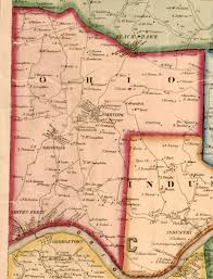 Franklin Ohio Map by Ancestor Tracks Beaver County