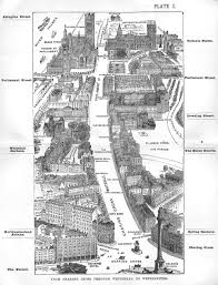 map of london during sherlock holmes printable trials ireland