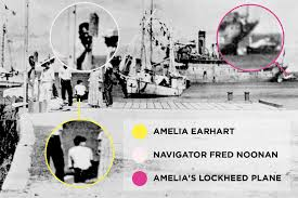 does this photograph prove amelia earhart survived her final flight