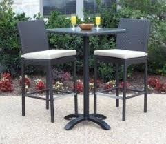 High Table Patio Furniture Bar Height Patio Furniture Sets Foter