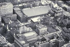 Boston University Campus Map Boston University Medical Campus 1948 Surgery Boston University