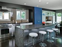 Kitchen With Bar Design Dazzling Galley Kitchen Remodel With Bar Stool And Kitchen Island