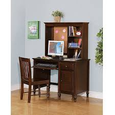 Walmart Desk With Hutch Collection Desk With Hutch And Chair Value Bundle Espresso